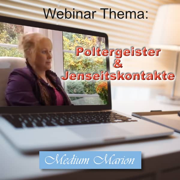 Webinar Medium Marion Baumeister, Poltergeister & Jenseitskontakte