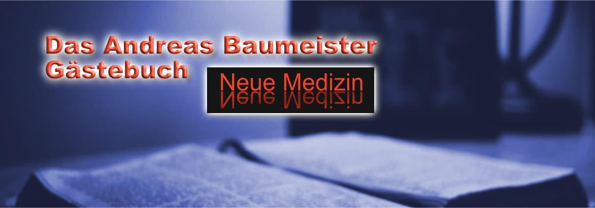 Das Andreas Baumeister Gästebuch