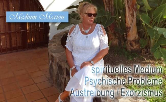 spirituelles Medium Marion Baumeister, Psychische Probleme, Exorzismus